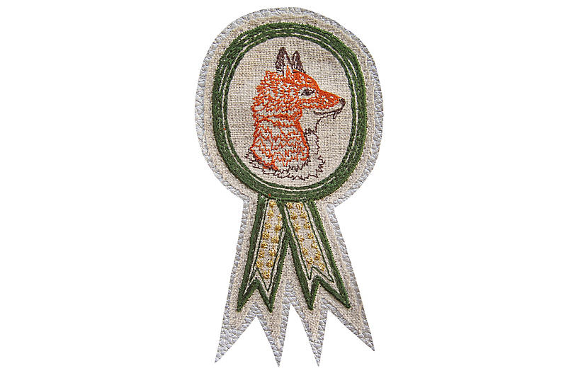 Foxy Badge Pin