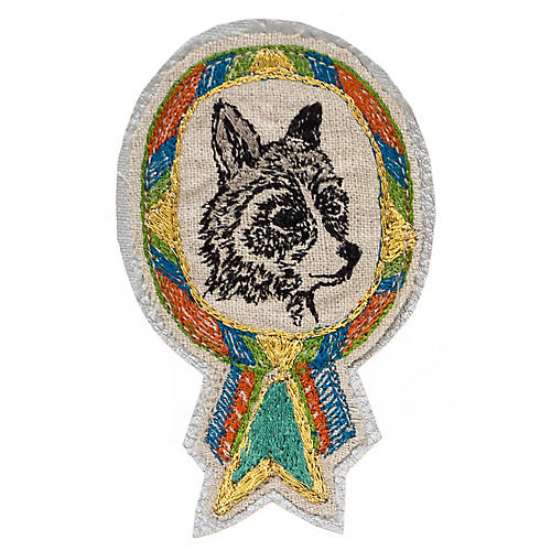 Raccoon Badge Pin