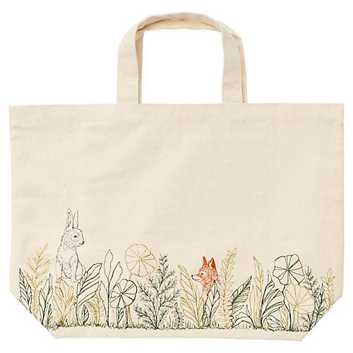 Meadow Fox Tote