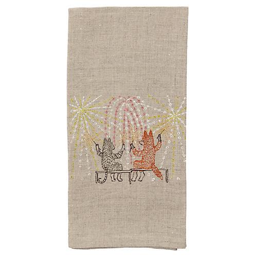 Summer Celebration Tea Towel