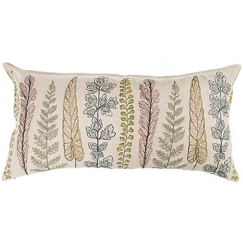 Plants 16x32 Pillow, Natural Linen
