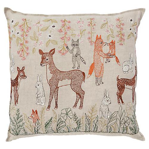 Spring 20x20 Pillow, Linen