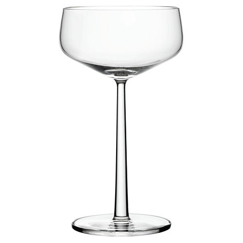 S/2 Esssence 10.25 Oz Coupe Glasses