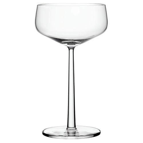 S/2 Esssence 10.25 Oz Coupe Glasses