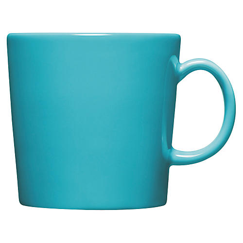 Teema 9.25 Oz Mug, Turquoise