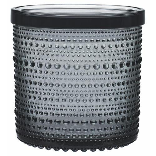 """Kastehelmi Jar Gray, 2.25"""""""