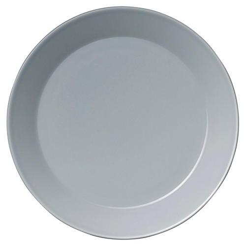 "Teema Pearl Gray Salad Plate, 8.5"""