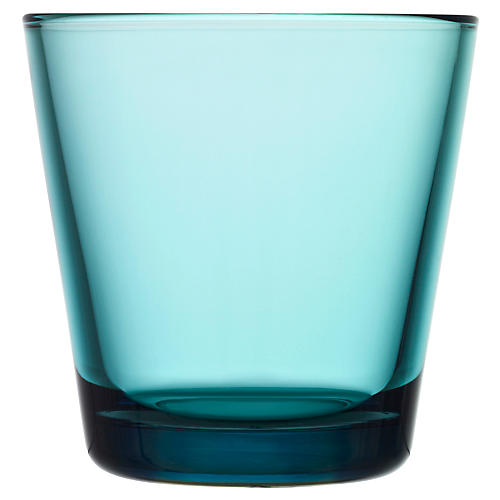 S/2 Kartio Tumblers, Sea Blue