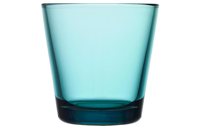 S/2 Kartio Tumblers, Sea Blue