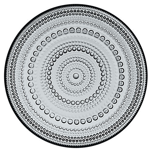 Kastehelmi Dinner Plate, Gray