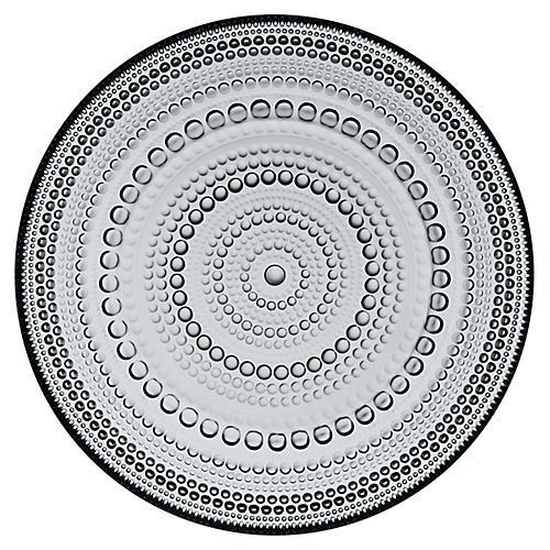 Kastehelmi Dinner Plate, Gray