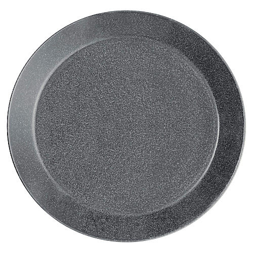 Teema Bread Plate, Dotted Gray