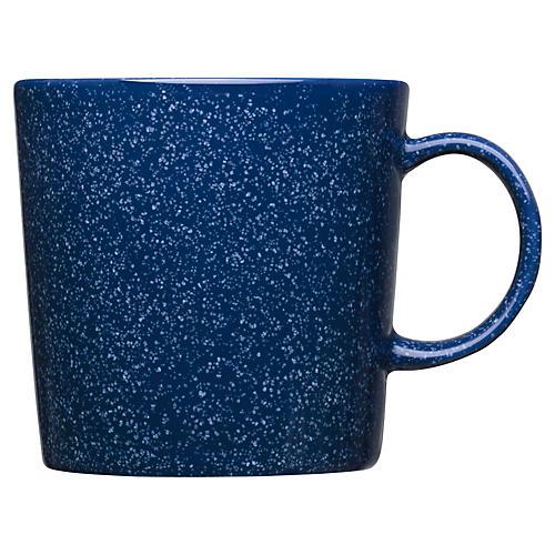 Teema Mug, Dotted Blue