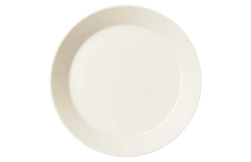 Teema Salad Plate, White