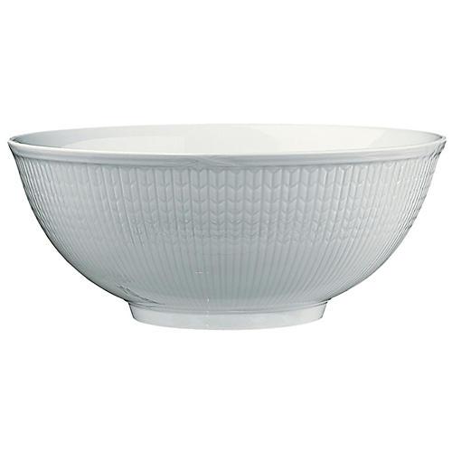 Swedish Grace Rice Bowl, Snow