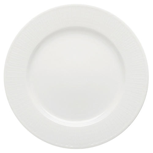 Swedish Grace Bread Plate, Snow