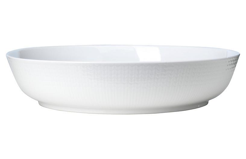 Swedish Grace Baking Dish, Snow