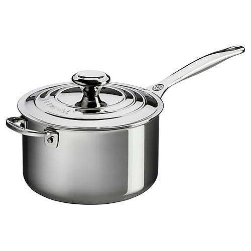 4 Qt Saucepan w/ Lid & Helper Handle