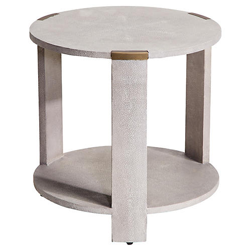 Evelyn Side Table, Cream