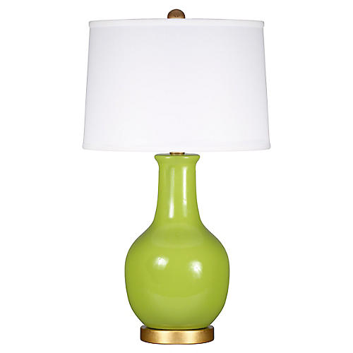 Madison Table Lamp, Chartreuse