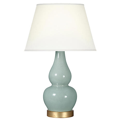 Eureka Table Lamp, Smoke Blue