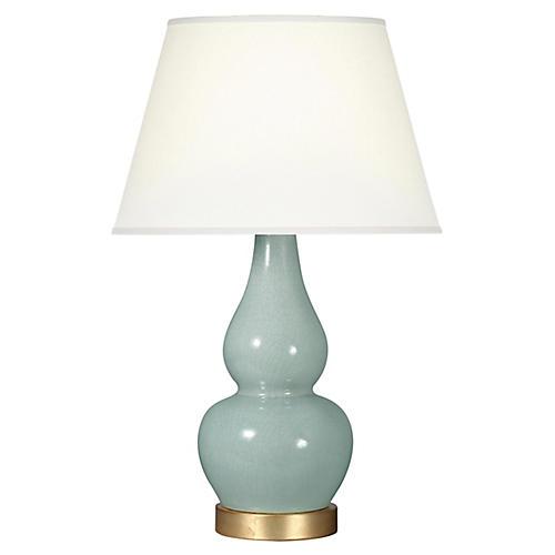 Eureka Table Lamp, Smoke Blue