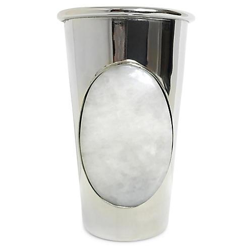 Dewey Cup, Silver/Moonstone