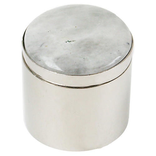 "2"" Ring Box, Silver/Light Gray"