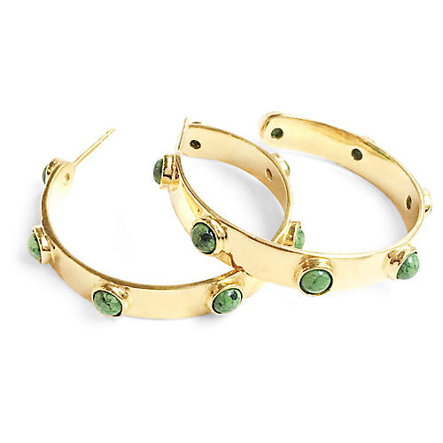 Graham Hoops, Green Turquoise