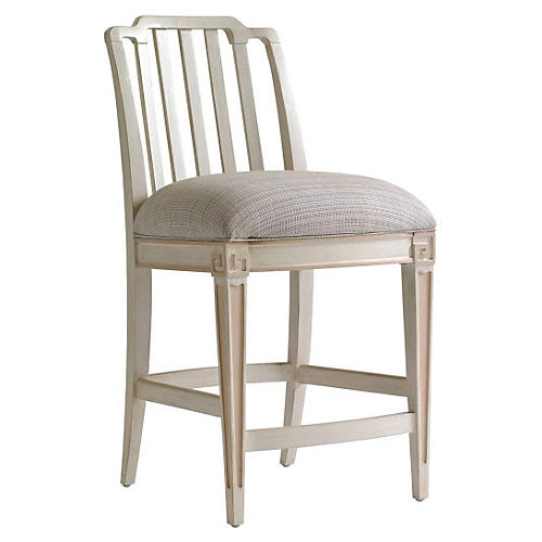 Marshall Counter Stool, Light Gray
