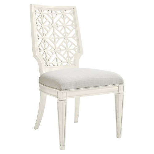 Catalina Side Chair, White
