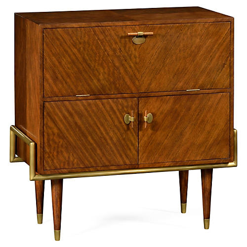 Gilbert Bar Cabinet, Toffee