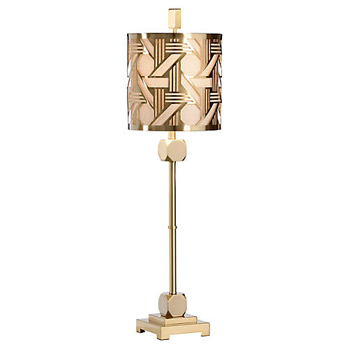 Sutton Table Lamp, Gold
