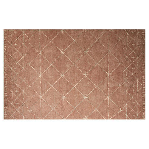Wilshire Rug, Pink/Ivory