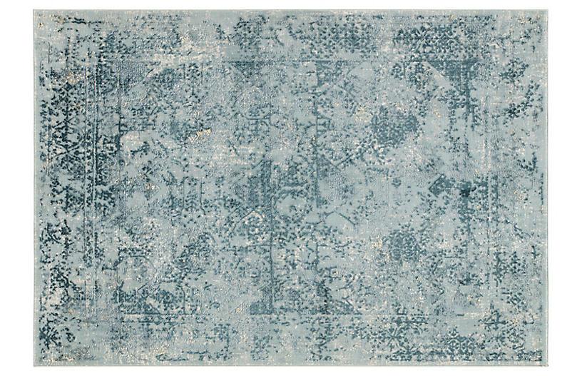 Ferro Rug, Blue/Teal