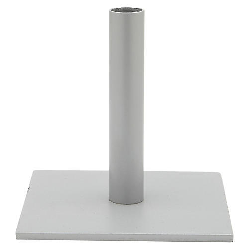 Square Umbrella Stand, Galvanized Steel