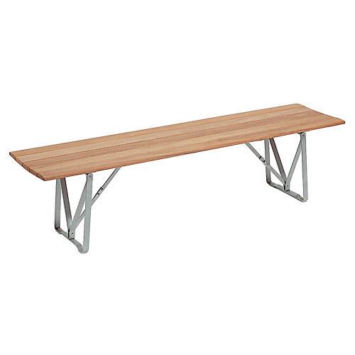 Balance Bench, Silver/Natural
