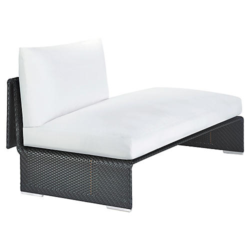 Slim-Line Right Daybed, Carbon