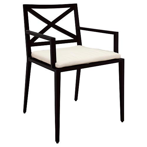 Azimuth Armchair, White