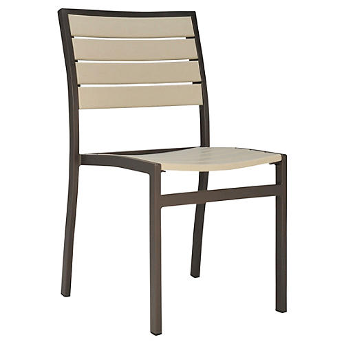 Koko Side Chair, Bronze/Sand