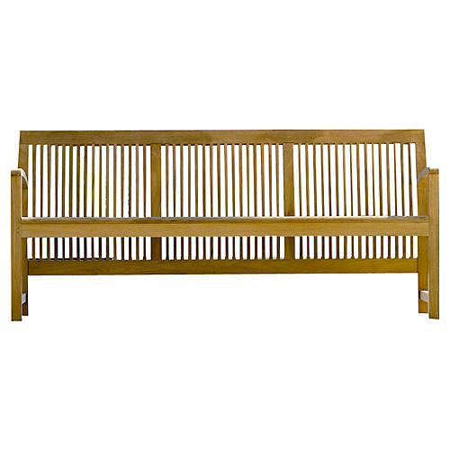 Praslin Bench, Natural