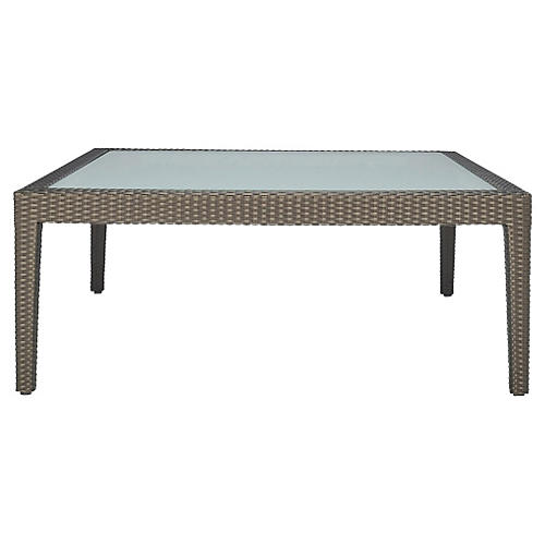 Quinta Coffee Table, Bronze