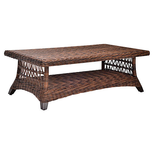 Arbor Rectangular Coffee Table, Twig