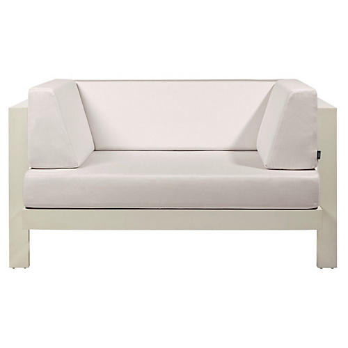 Pure Club Chair, White