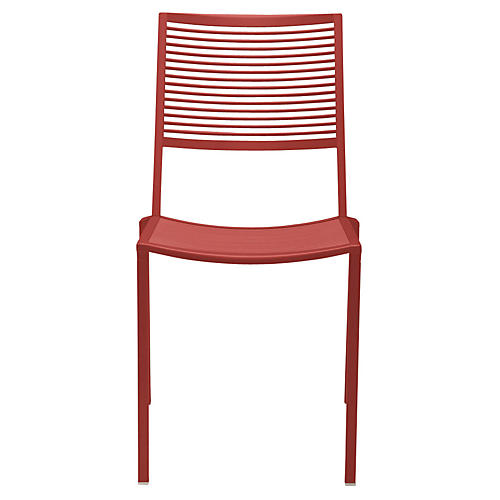 Easy Side Chair, Red