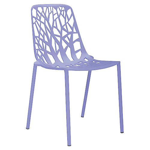Forest Side Chair, Lilac
