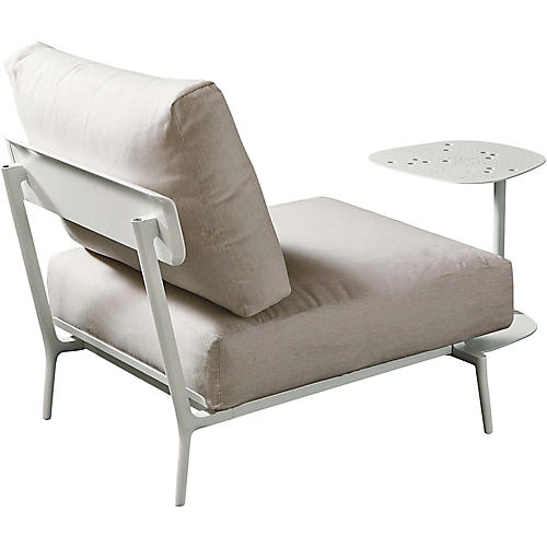 Candido Accent Chair, White