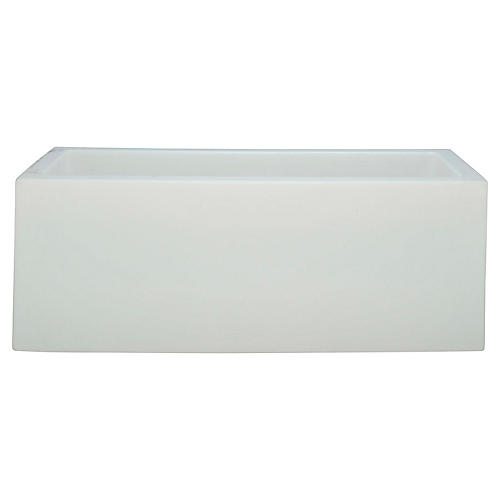 Ice Box Chest, White