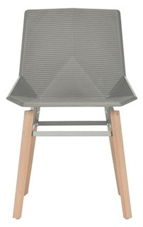 Beau Hypnos Outdoor Side Chair, Natural/Light Gray   Side Chairs   Dining Chairs    Dining Room   Furniture | One Kings Lane