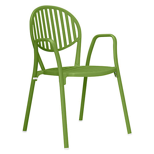 Olympia Armchair, Olive Green